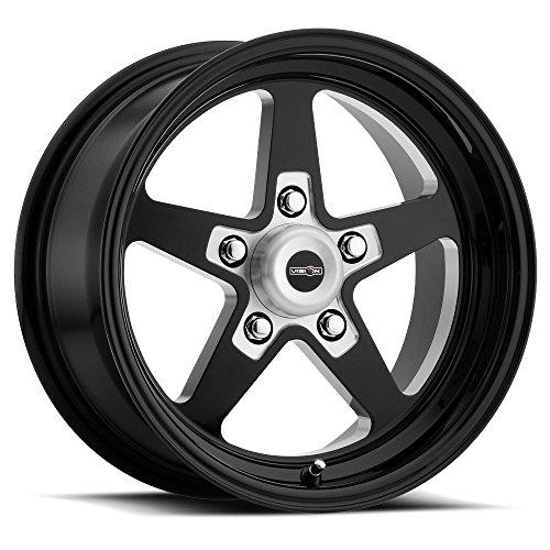 AMERICAN MUSCLE SPORT STAR II Wheels/Rims 15x10 inch 120 ET-25 Gloss Black Milled Center