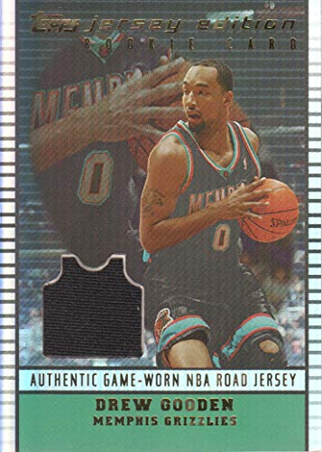 2002-03 Topps Jersey Edition #JEAMG Drew Gooden R RC Jersey Memphis ()