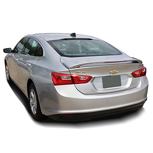 MAL16-PED Lighted Factory Style Pedestal Spoiler for Chevrolet Malibu - BAROQUE RED METALLIC (G7T) -