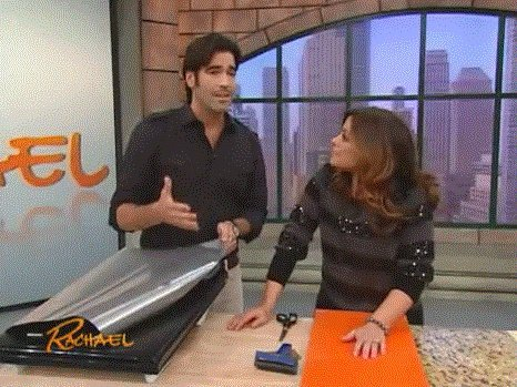 Brushed Stainless Dishwasher Cover: As Seen On TV The Rachael Ray Show, Peel & Stick BRUSHED STAINLESS NICKEL Finish Cover 26