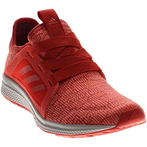 adidas Women's Edge Lux w Running Shoe, Easy Coral/Sun Glow/White, 10 M US