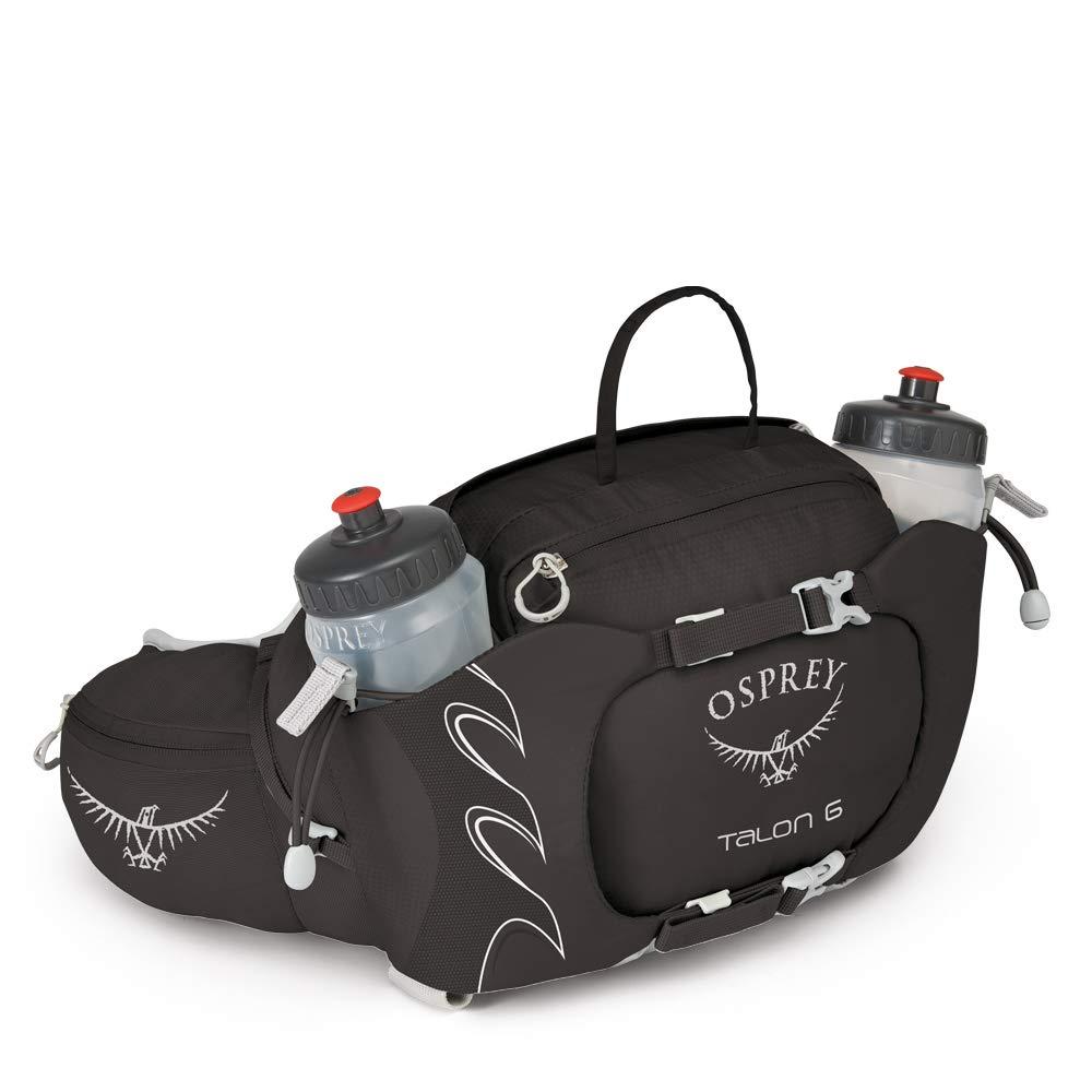 Osprey Talon 6 Unisex Hiking Lumbar Hydration Pack with 2x 570ml BPA Free Hydraulics/™ Bottles