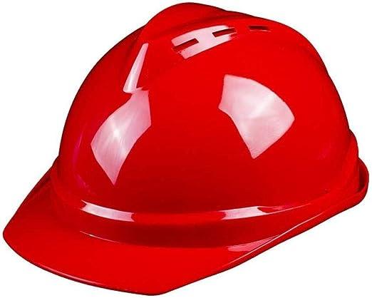 ZBM-ZBM Sitio De Construcción De Cascos De Alta Resistencia Construcción De Casco De Engrosamiento ABS Casco De Liderazgo De Potencia De Ingeniería De Construcción Casco de Seguridad Industrial: Amazon.es: Hogar