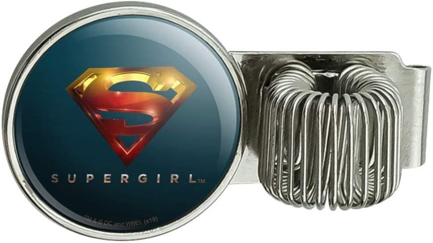 Supergirl TV Series Logo Pen Holder Clip Accessory for Planner Journal Appointment Book Diary Notebook