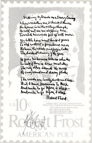 Kurt Vonnegut - Poem Signed