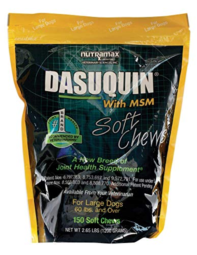 (Nutramax Dasuquin with MSM Soft Chews, Large Dog, 150 Count)