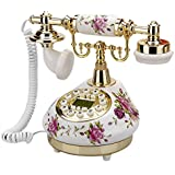 TelPal Retro Vintage Antique Telephone Old Fashioned with push button dial for home decor