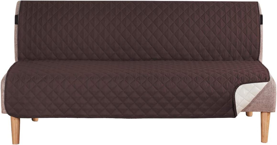 H.VERSAILTEX Reversible Futon Slipcover Seat Width Up to 70
