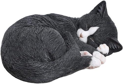 Hi-Line Gift Ltd Lying Cat Sleeping Statue