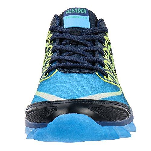 Shoes 8902 Sneakers Navy Walking Running ALEADER Women's Fashion 7P8AAq