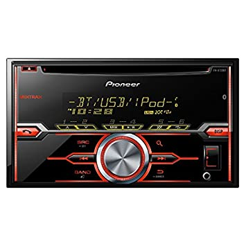 PIONEER FH-X720BT 2-DIN in-Dash CD USB MP3 Car Stereo Receiver with Bluetooth