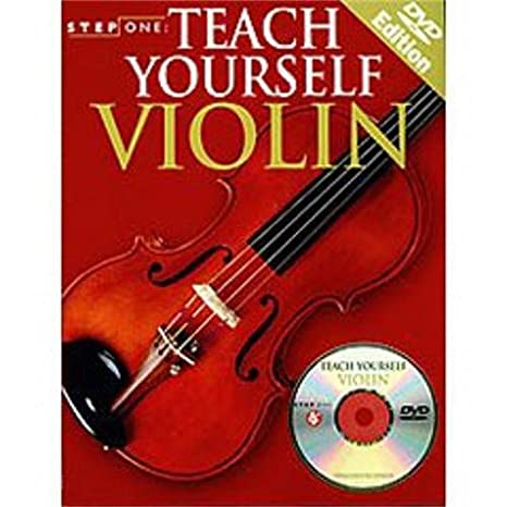 Hal Leonard Step One: Teach Yourself Violin (Book and DVD)