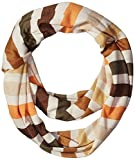 Tickled Pink Striped T-shirt Infintiy Scarf