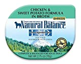 Natural Balance 24 Count 24Ea 2.75 oz Lid Chicken & Sweet Potato in Broth Dog Food - One Size