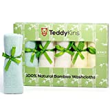 Baby Shower Gift Idea: Teddykins Bamboo Baby Washcloths/Wipes, Organic, Extra