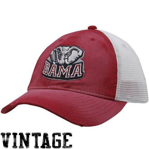 a12306eb57a3 Amazon.com   Alabama Crimson Tide Youth BAMA Washed Trucker Stretch Fit Hat
