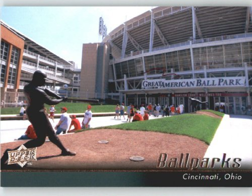 2010 Upper Deck #547 The Great American Ballpark (Ball Parks) Cincinnati Reds - Baseball Card