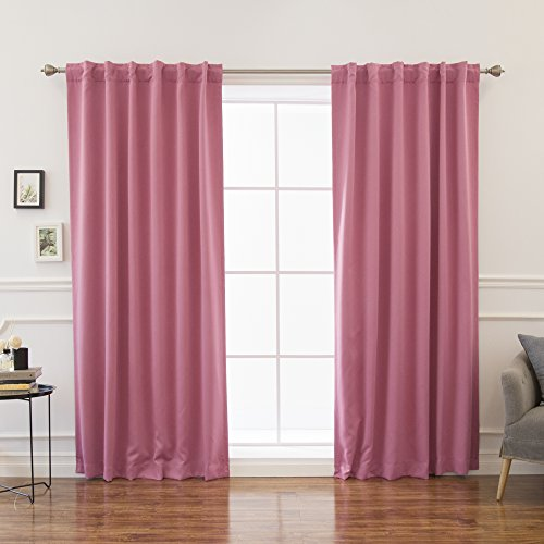 72 inch curtain panel pink - 4