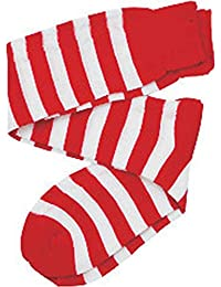 Kids Red/White Striped Knee Socks