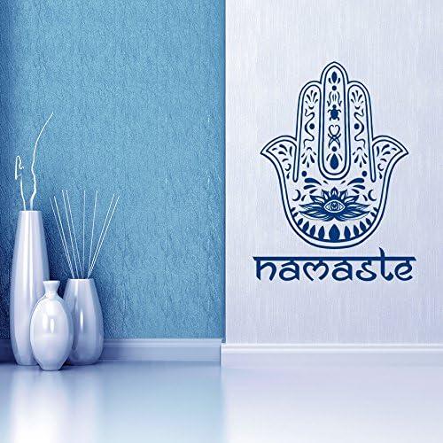 Hamsa Symbol Removable Matte Sticker Sheets Set