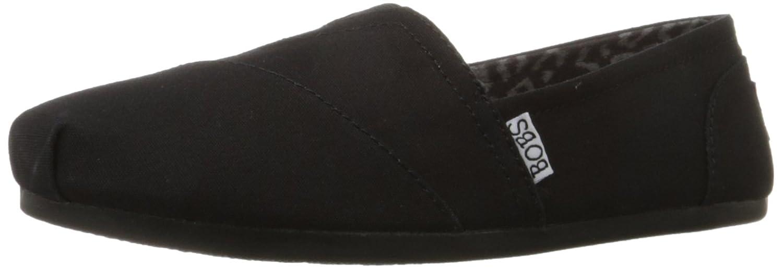 Skechers Bobs Damen Slipper Plush Peace&Love Beige  39.5 EU Black