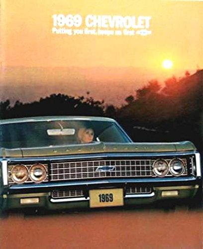 A MUST FOR OWNERS & RESTORERS, A BEAUTIFUL 1989 FULL-SIZE CHEVROLET BEL AIR, BISCAYNE, CAPRICE & IMPALA DEALERHIP SALES BROCHURE - Includes Coupes, Sedans & Convertible - 4-Door, 2-Door - ADVERTISMENT - LITERATURE 69 ()