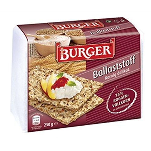 Burger Knäckebrot Ballaststoff ++ DAS Ostprodukte Geschenk - DDR Traditionsprodukt und Ossi Kultprodukt - Geschenkidee für alle Ostalgiker aus Ostdeutschland vom Ostprodukte Experten - Ostpaket mit DDR Klassiker - Ideal für jedes DDR Geschenkset
