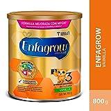 Enfagrow 3, Leche de Crecimiento para Niños Mayores de 12 Meses, Lata 800 gr, Sabor Vainilla
