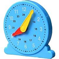 Aprendizaje Niños Del Reloj De Tiempo Del Profesor