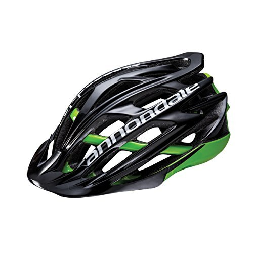 Cannondale 2017 Cypher MTB Bicycle Helmet (Black/Green - S/M)