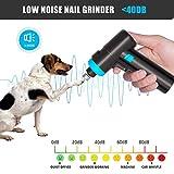 KOSPET Gunshape Dog Nail Grinder, Professional
