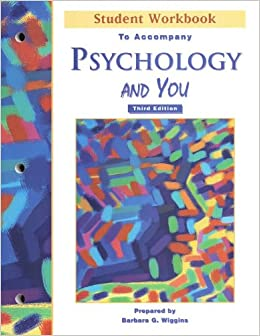 Book Psychology And YouStudent Workbook
