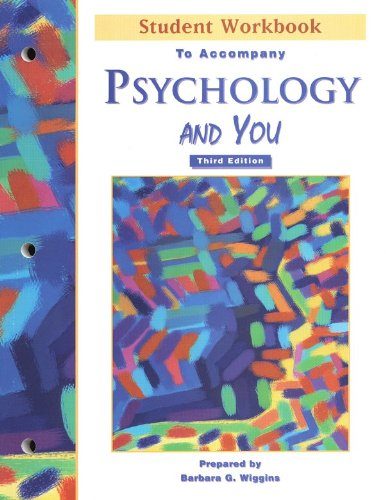 Psychology And You   Student Workbook