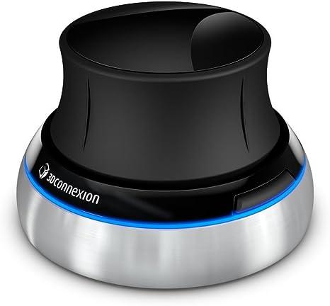 3DConnexion Spacenavigator - Ratón para portátil en 3D con cable ...