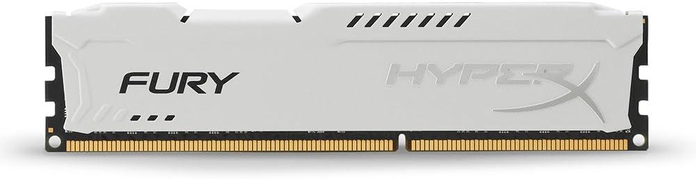 Kingston HyperX FURY 8GB 1866MHz DDR3 CL10 DIMM - White (HX318C10FW/8) at Amazon.com
