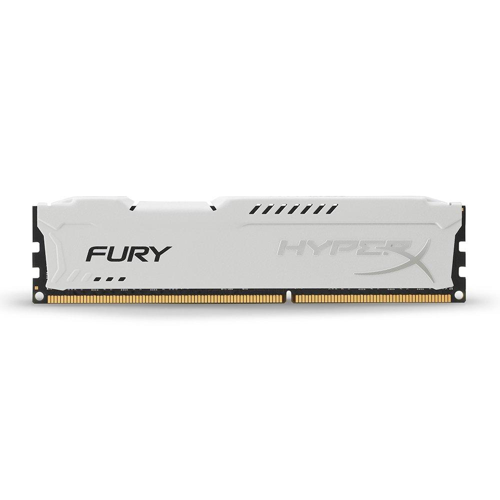 Memoria RAM 8GB Kingston HyperX FURY 1866MHz DDR3 CL10 DIMM - White (HX318C10FW/8)