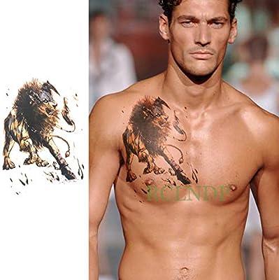 ljmljm 3 Unids Impermeable Etiqueta Engomada del Tatuaje Caballo ...