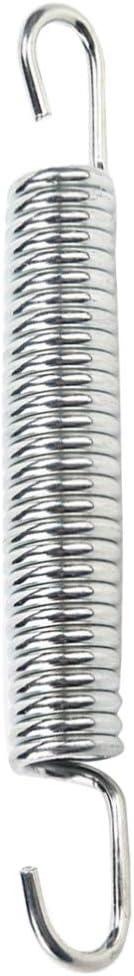 Faderr - Juego de 10 muelles de repuesto para cama elástica con doble gancho, resistentes a la corrosión y duraderos, As Picture Show, 140 mm