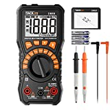 Multimeter, Tacklife DM08 Digital Multimeter, DC/AC Voltage Tester, DC/AC Current Measurement, Battery Voltage Detector, Non-Contact Voltage Detection, Continuity Detection, Resistors, Diodes