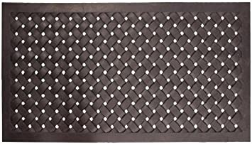 Amazon.com : Nach Braided Rubber Doormat, Large : Outdoor Door Mats Large :  Garden U0026 Outdoor