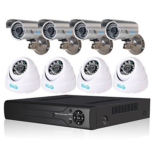 JOOAN TC-5357DVR-8Y 8CH H.264 DVR Digital Video Recorder 700tvl CCTV Surveillance Security Camera System