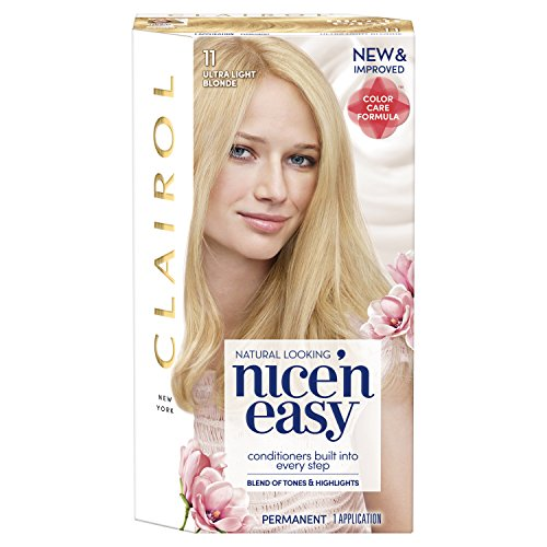 Clairol Nice 'n Easy Hair Color, 11 Ultra Light Blonde, 1 Count (Packaging May Vary)
