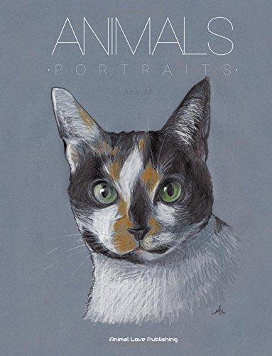 ANIMALS Portraits Astonishing Portfolio Paintings product image