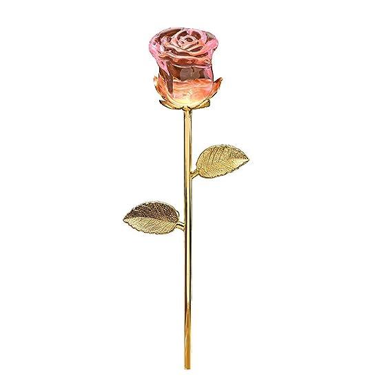 TAOtTAO - Pisapapapeles de Cristal para decoración de Bodas, Rosa ...