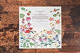 Butterfly Garden Ketubah | Jewish/interfaith/Quaker Wedding Certificate | Hand-Painted, Giclée Print
