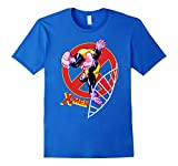 Mens Marvel X-Men The Beast Classic Mutant DNA Graphic T-Shirt XL Royal Blue