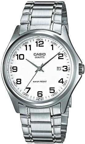 Casio MTP-1183A-7BEF - Reloj analógico de Cuarzo para Hombre con Correa de Acero Inoxidable, Color Plateado