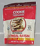COOKIE COUTURE, CKIE, OG2, VICTRN OATML RSN, Pack of 12, Size 5 OZ - No Artificial Ingredients Gluten Free Low Sodium Wheat Free Yeast Free 95%+ Organic
