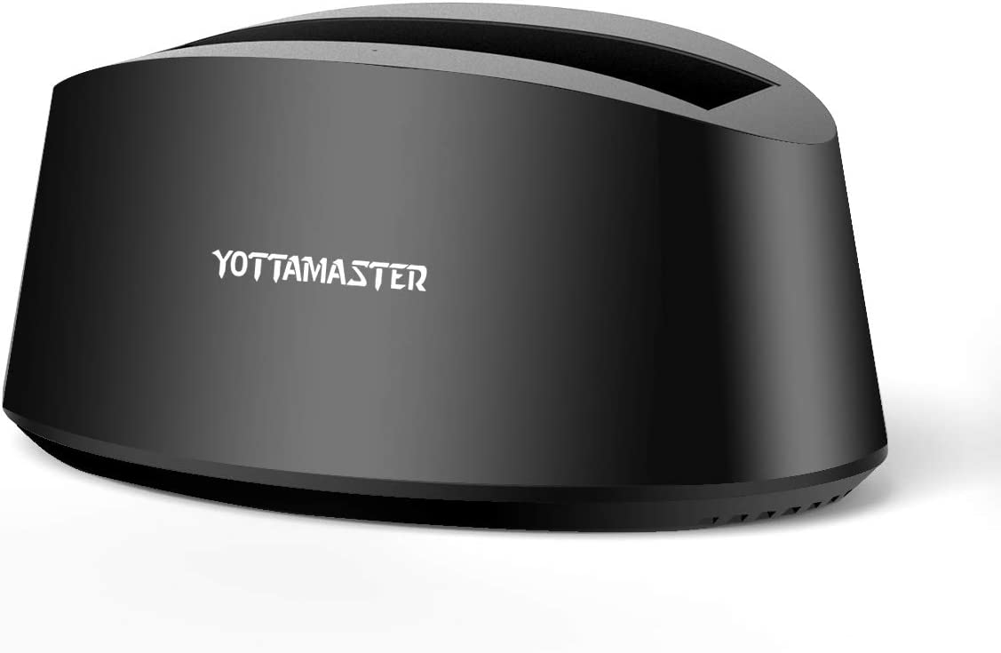 Yottamaster USB3.0 External Hard Drive Docking Station for 2.5/3.5 Inch SATA HDD SSD, Support 8 TB & UASP