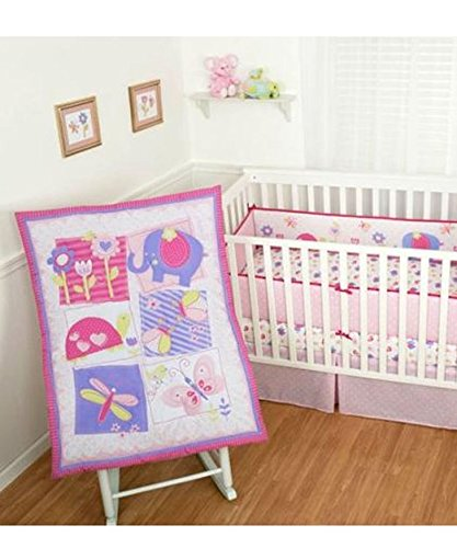 Sumersault Baby Crib Bedding Set 4 Piece